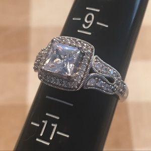 Diamonique Ring Size 10
